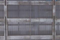 Metallstruktur av stängerna och ingreppet Royaltyfria Foton