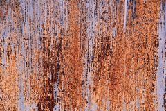 Metalltür im Rost Stockbilder