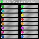 Metalltasten Lizenzfreie Stockfotos