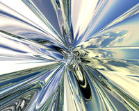 metalltechno Royaltyfri Fotografi
