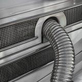 Metallteil der Autonahaufnahme Stockfotos