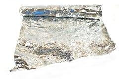 metalltextur för aluminum folie Royaltyfri Fotografi