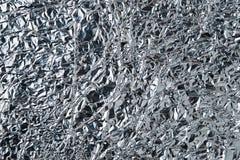 metalltextur för aluminum folie Arkivbild