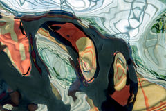 metalltextur skvalpar och vågabstrakt begrepp för bakgrund Royaltyfri Bild