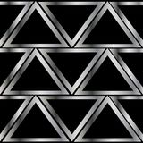 Metalltriangelmodell Arkivfoto