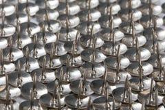 Metalltummehalsar arkivbilder