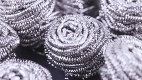 Metallull från shavings lager videofilmer