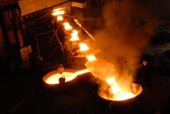 Metallurgia industriale fotografie stock