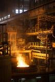 Metallurgical furnace Stock Photos