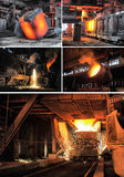 Metallurgical industry Stock Image