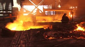 Metallurgical industry Stock Photo