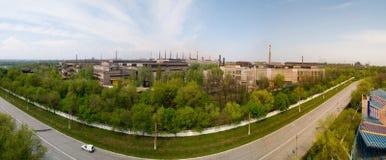 Metallurgical plant in Mariupol, Ukraine Stock Images