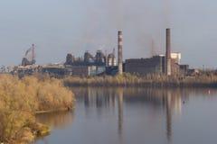Metallurgical plant Royalty Free Stock Photo