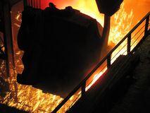 Metallurgical production. Stock Photography