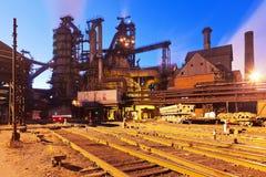 metallurgical växt royaltyfri foto