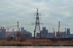 Metallurgical växt Azovstal arkivfoton