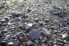 Metallurgical waste Royalty Free Stock Photo