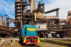 Metallurgical works Royalty Free Stock Photography