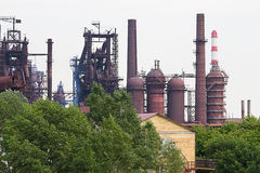 Metallurgical works Royalty Free Stock Image