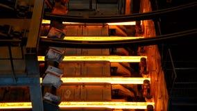 Metallurgical works stock footage