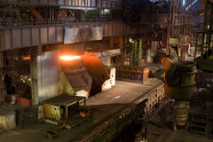 Metallurgie Stockbild