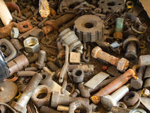 Metallurgisch afval Royalty-vrije Stock Foto's