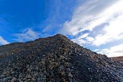 Metallurgischer Abfall Stockfotos