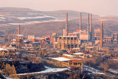 Metallurgy Complex In Hunedoara Romania Royalty Free Stock Images