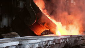 Metallurgy stock footage