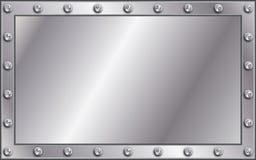 Metallvorstand Stockfoto