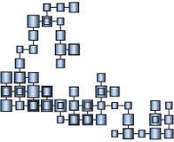 Metallwürfel vektor abbildung