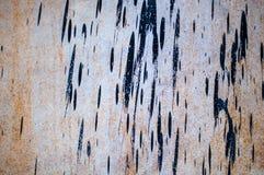 Metallwand bedeckte stockfotografie