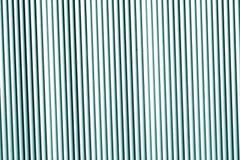 Metallwandbeschaffenheit im cyan-blauen Ton Stockfotos