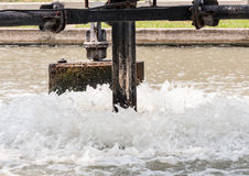 Metallwasserturbine Lizenzfreie Stockfotografie