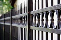 Metallzaun Stockbild