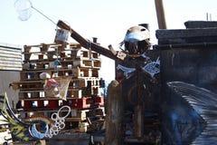 Metalman渔 库存图片
