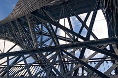 metalowa konstrukcja Zdjęcie Royalty Free