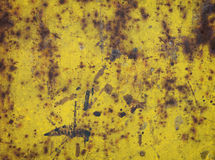 metalowa płytka rdzewiejący Zdjęcie Stock
