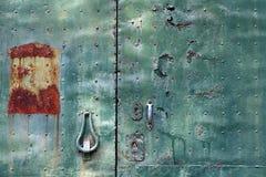 metalowa płytka Zdjęcia Stock