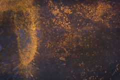 metalowa płytka rusty Obrazy Royalty Free