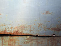 metalowa płytka rusty Fotografia Royalty Free