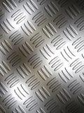 metalowa płytka z diamentem Obraz Royalty Free