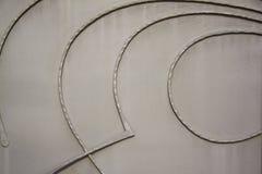 metalowe abstrakcyjne tło Obrazy Royalty Free