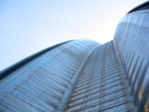 metalowe budynku. Zdjęcia Royalty Free
