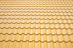 metalowe dach Obraz Stock