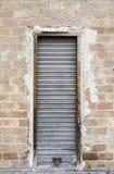 metalowe drzwi stary obrazy stock
