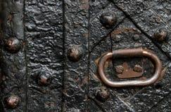 metalowe drzwi stary Obraz Stock
