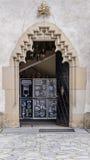metalowe drzwi stary Zdjęcie Stock