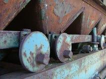 metalowe maszyn rdzewiejący obrazy royalty free