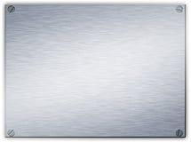 metalowe oczyszczona płytki stali ilustracja wektor
